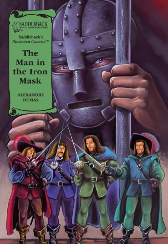 9781599059082: The Man in the Iron Mask (Illus. Classics) HARDCOVER (Saddleback's Illustrated Classics)