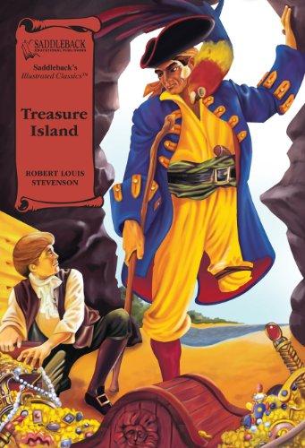 Treasure Island (Illus. Classics) HARDCOVER (Saddleback's Illustrated Classics): Stevenson, ...