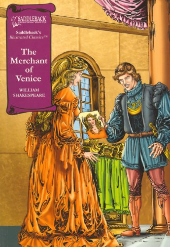 9781599059297: Merchant of Venice, The HARDCOVER (Saddleback's Illustrated Classics)