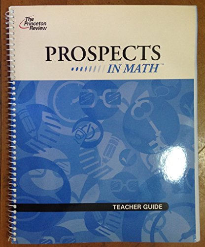 9781599082387: PROSPECTS IN MATH (TEACHER GUIDE)
