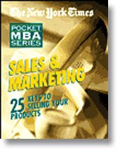 9781599128900: The New York Times Pocket MBA Series: Sales & Marketing (Audiofy Digital Audiobook Chips)