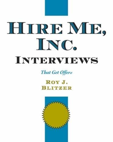 Hire Me, Inc. Interviews : That Get: Roy J. Blitzer