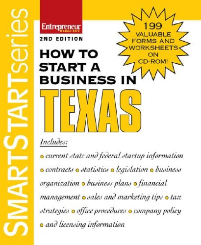 9781599180694: How to Start a Business in Texas