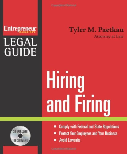 9781599180700: Hiring and Firing (Entrepreneur Legal Guides)