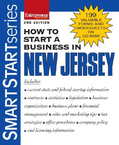 9781599180779: How to Start a Business in New Jersey