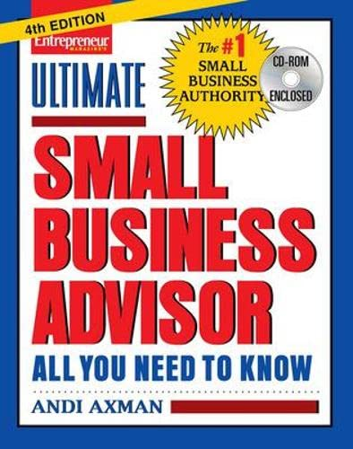 9781599180854: Ultimate Small Business Advisor (Ultimate Small Business Advisor: All You Need to Know)