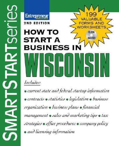 9781599181158: How to Start a Business in Wisconsin (Smartstart)