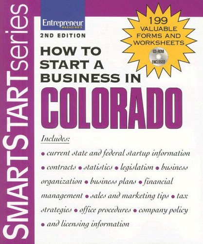 9781599181196: How to Start a Business in Colorado