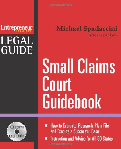 Small Claims Court Guidebook (Entrepreneur Legal Guides)