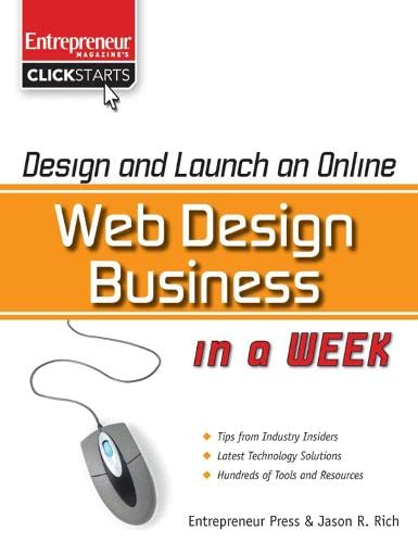 9781599182650: Design and Launch an Online Web Design Business in a Week (Clickstarts)