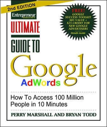 9781599183602: Ultimate Guide to Google Ad Words, 2nd Edition: How To Access 100 Million People in 10 Minutes