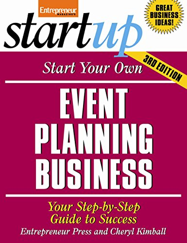 9781599184159: Start Your Own Event Planning Business 3/E: Your Step-by-Step Guide to Success (Startup Series)