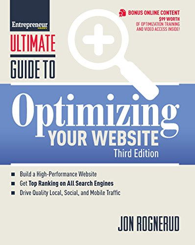 Ultimate Guide to Optimizing Your Website (Ultimate Series): Rognerud, Jon