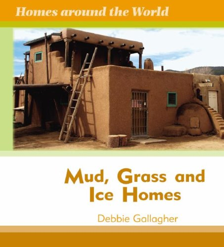 Mud, Grass, and Ice Homes (Homes Around the World): Gallagher, Debbie