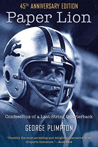 9781599218090: Paper Lion: Confessions of a Last-String Quarterback