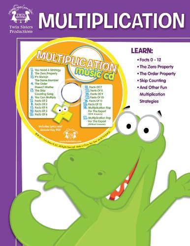 9781599221441: Multiplication Workbook with Music Download