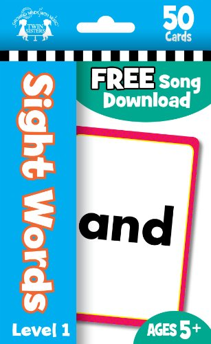 Sight Words 50ct Flash Cards (9781599221472) by Twin Sisters Productions