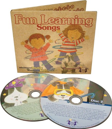 Fun Learning Songs (Wholesome Music for Wholesome: Kim Mitzo Thompson;