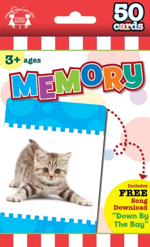 Memory Game Cards (9781599225449) by Twin Sisters Productions