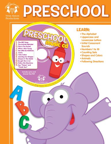 9781599225616: Preschool Activity Book (Twin Sisters Productions: Growing Minds with Music)