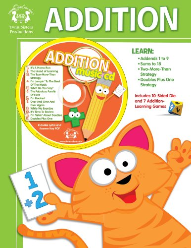 9781599225654: Addition: Activity Book (Twin Sisters Productions: Growing Minds with Music)