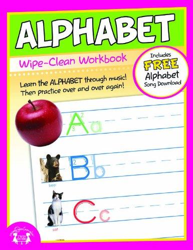 9781599227290: Alphabet Wipe Clean Workbook