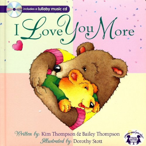9781599228754: I Love You More Padded Board Book