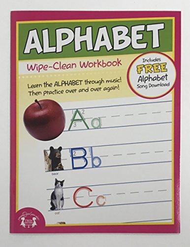 9781599230320: Alphabet Wipe-Clean Workbook
