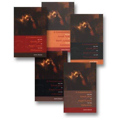 9781599250380: Commentary on the Greek Text 5 Volume Set (5 Volume set)
