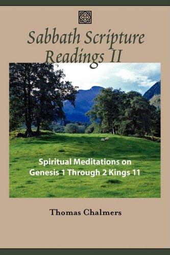 9781599251929: Sabbath Scripture Readings II - Spiritual Meditations from the Old Testament