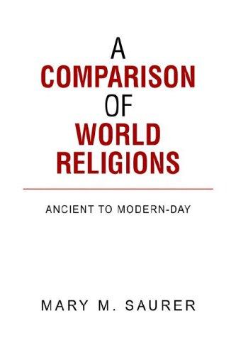 9781599266565: A Comparison of World Religions