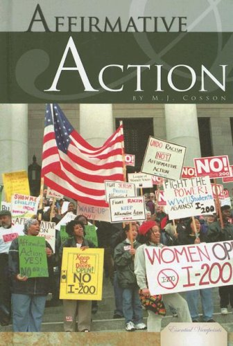 Affirmative Action (Essential Viewpoints): M. J. Cosson
