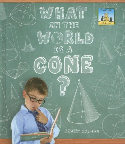 9781599288864: What in the World Is a Cone? (3-D Shapes)