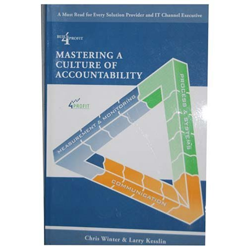 9781599320670: Mastering a Culture of Accountability