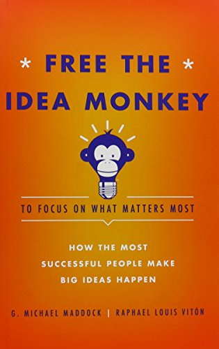 9781599325118: Free the Idea Monkey to Focus on What Matters Most: How the Most Successful People Make Big Ideas Happen