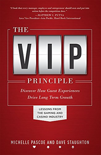 9781599325576: The VIP Principle: Discover How Guest Experiences Drive Long Term Growth