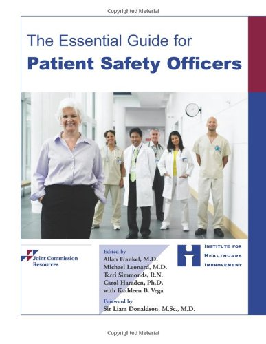 9781599402345: The Essential Guide for Patient Safety Officers