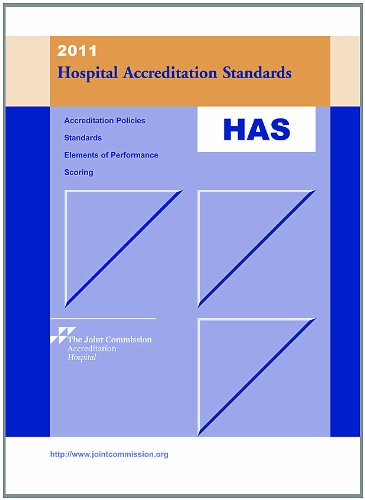 9781599402833: 2011 Hospital Accreditation Standards