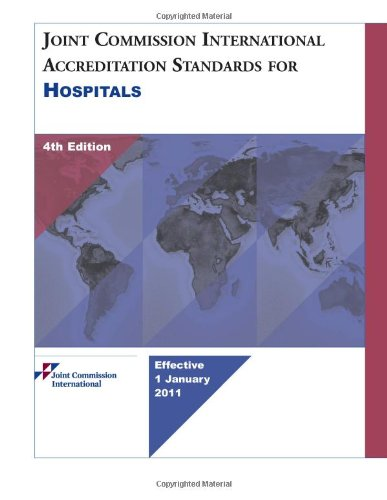 9781599404349: Joint Commission International Accreditation Standards for Hospitals, 4th Edition
