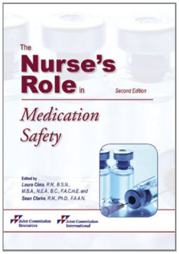 9781599406183: The Nurse's Role in Medication Safety