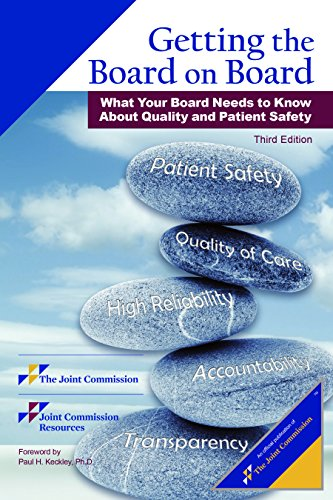 Getting the Board on Board: What Your: Joint Commission Resources