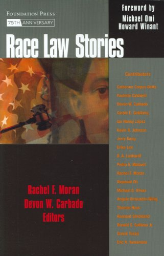 9781599410012: Race Law Stories