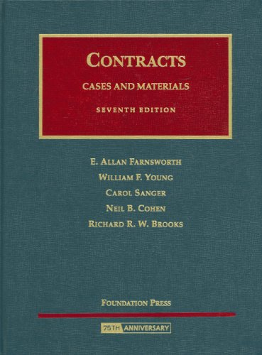 9781599410302: Cases and Materials on Contracts (University Casebook)