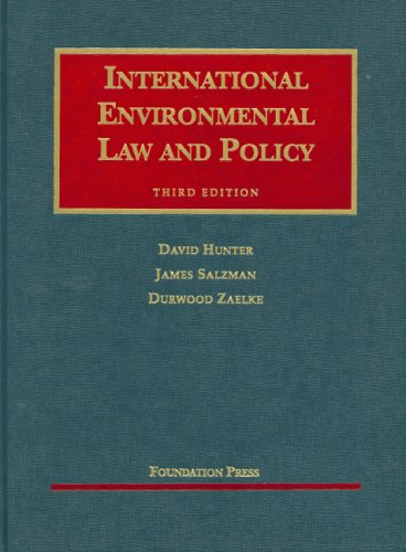 9781599410418: International Environmental Law and Policy (University Casebook Series)