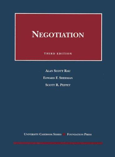 9781599410562: Negotiation (Coursebook)
