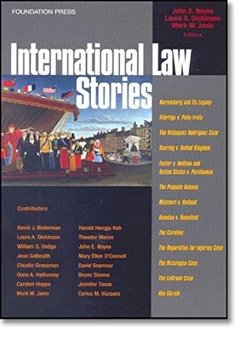 9781599410869: International Law Stories