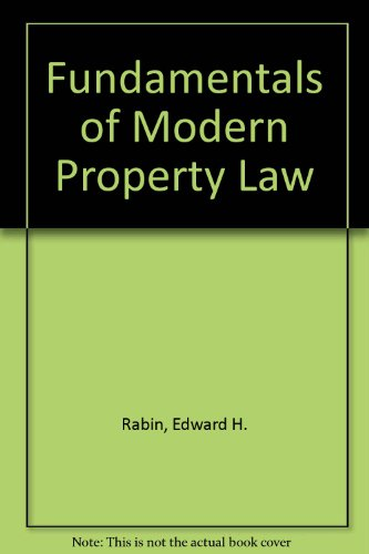 9781599411521: Fundamentals of Modern Property Law