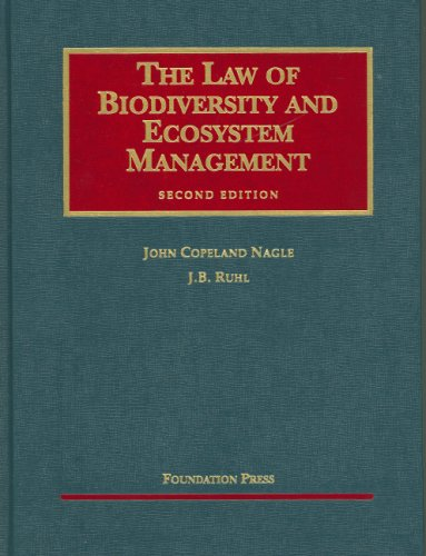 9781599411583: The Law of Biodiversity and Ecosystem Management (University Casebook Series)