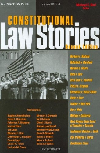 9781599411699: Constitutional Law Stories
