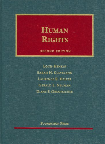 9781599412610: Human Rights (University Casebook Series)